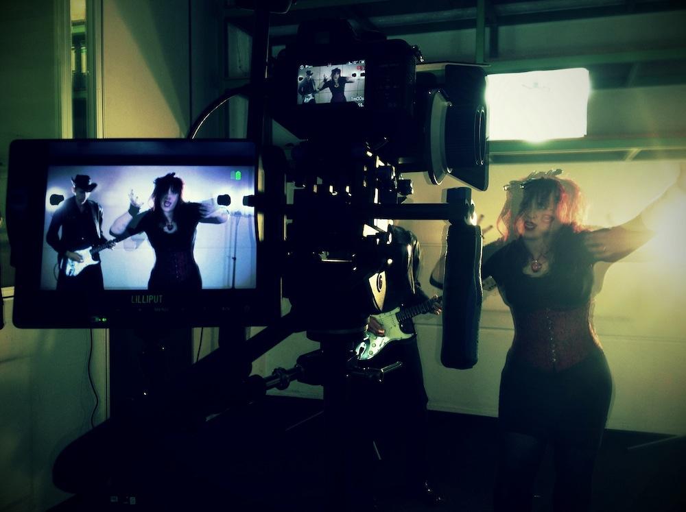 "Videodreh zu ""Ghost In My Head"" – Teil 1"