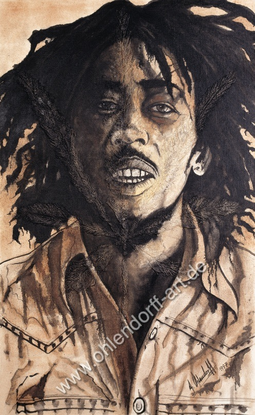 Bob Marley by Ohlendorff Art