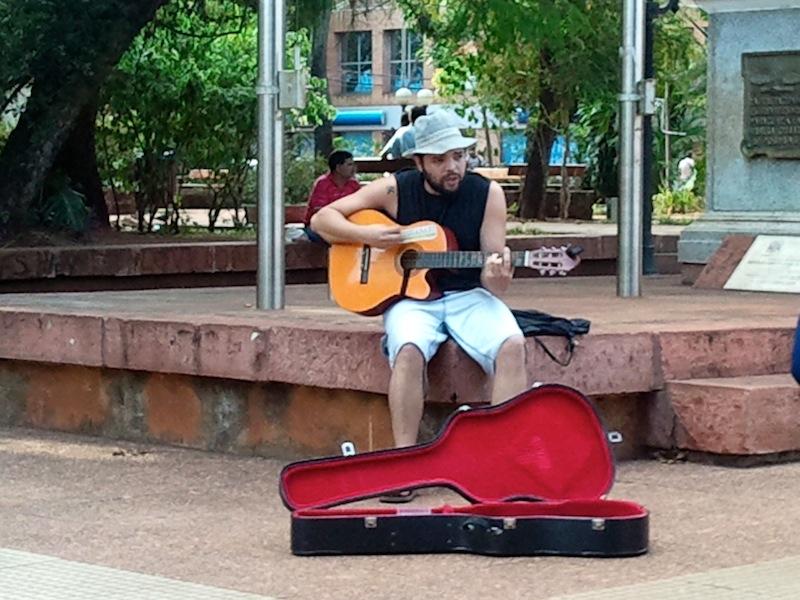Straßenmusiker, Posadas