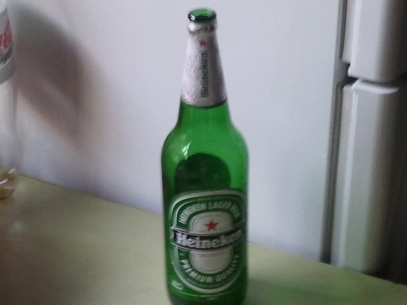 1 Liter Heineken Bier