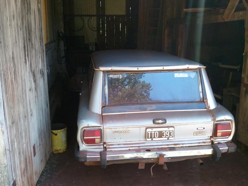 Gualterios ganzer Stolz, ein 84er Ford