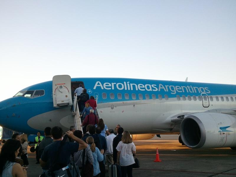 Abflug nach Posadas