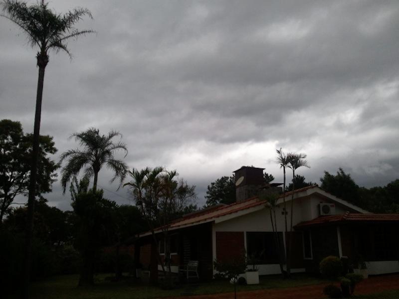 sieht wohl nach Regen aus
