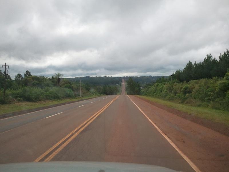 Auf dem weg nach Iguazú, Flughafen