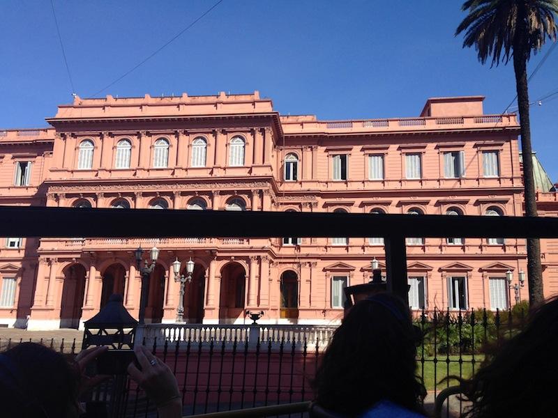 Der Regierungspalast, Buenos Aires, Argentinien