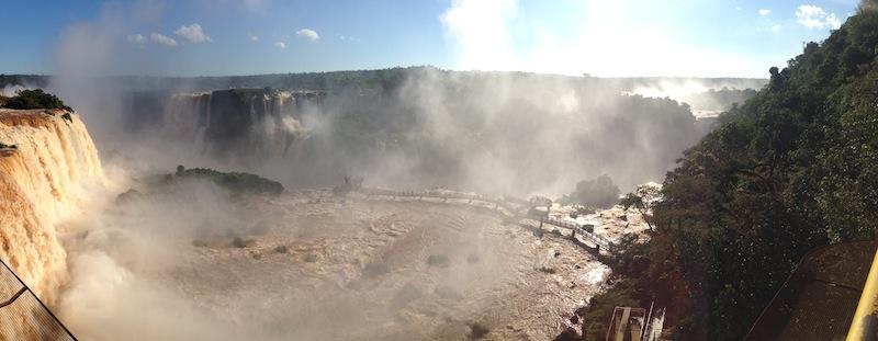 Iguazú Wasserfälle, Brasilianische Seite