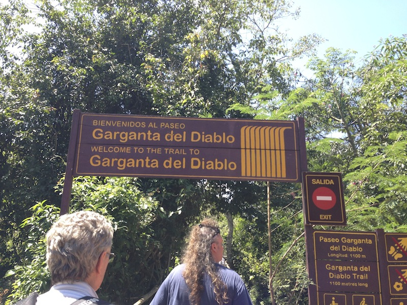 GARGANTA DEL DIABOLO, der Teufelsrachen
