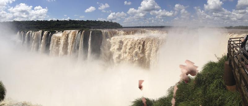 Garganta del Diabolo, Teufelsrachen Iguazú Wasserfälle, argentinische Seite