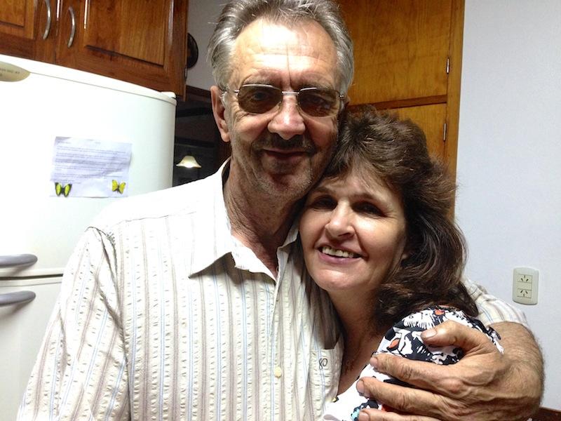 Hepi und Wanda, meine Familie in Monte Carlo, Argentinien