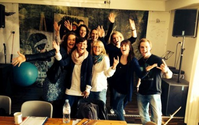 Das erste Ausbildungswochenende und der spontane Besuch von Helene Fischer