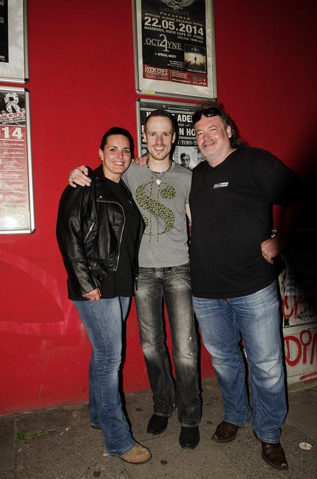 21 Octayne im The Rock Cafe St.Pauli Hamburg