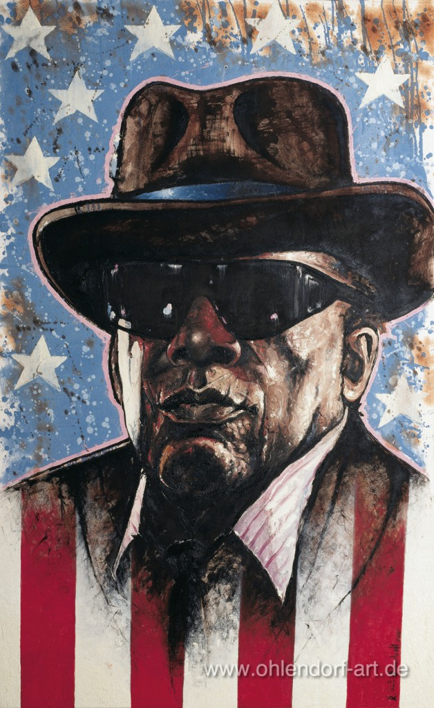 John Lee Hooker powervoice Ohlendorff Art