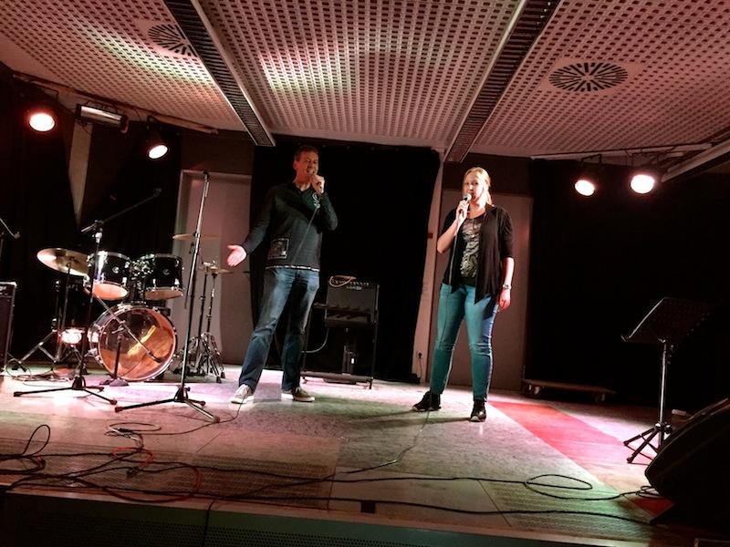 Matthias und Steffi im Duett