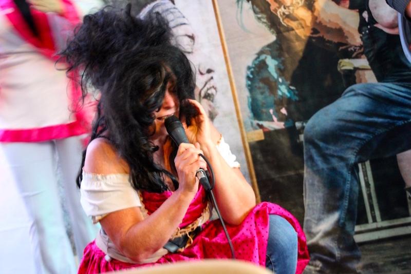 Gesangsausbildung Hamburg: Theda als Amy Winheouse