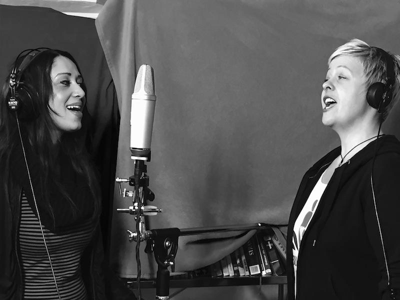 Grazia und Nicole im Studio