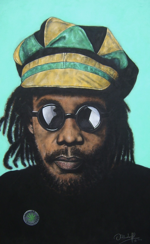 Gemälde Peter Tosh The Wailers