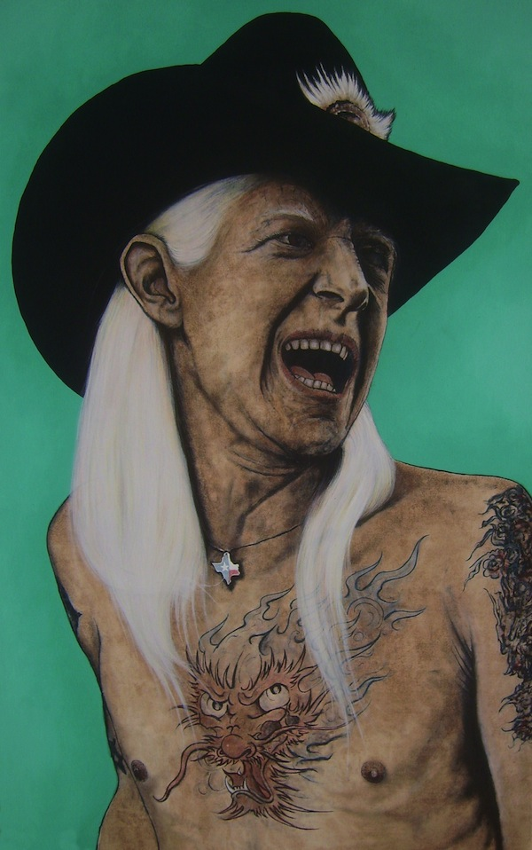 Portrait von Ohlendorff Art - Johnny Winter