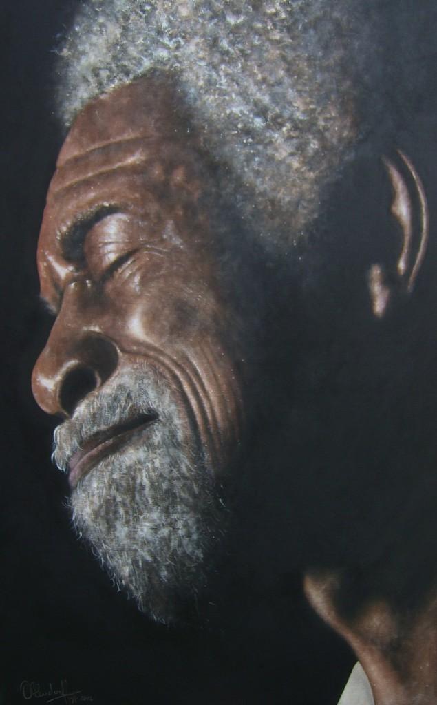 Luther Allison Gemälde von Ohlendorff Art
