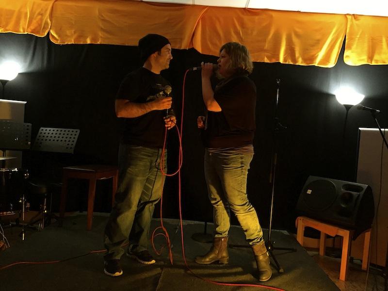 Eros Ramazotti & Anastacia , also Francesco & Jasmin - trotzdem cool :)