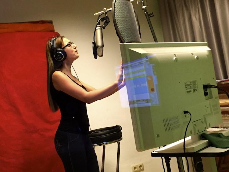 Melissa im Studio