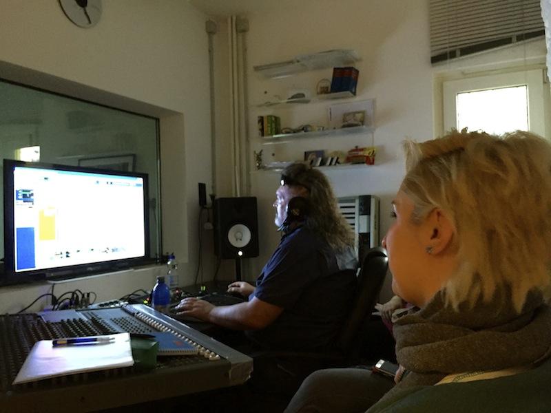 Studiotime - Stimme sichtbar machen