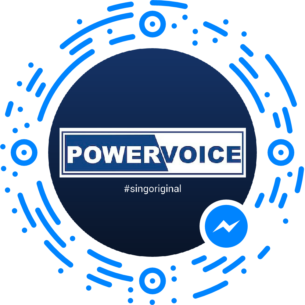 POWERVOICE-Facebook-Messanger-Code