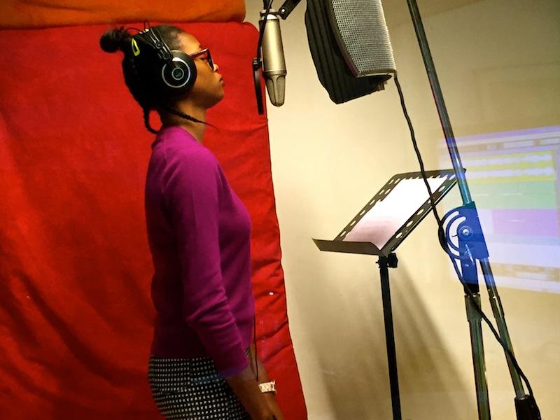 Lili im Studio
