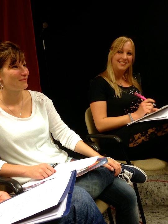 Celina und Steffi