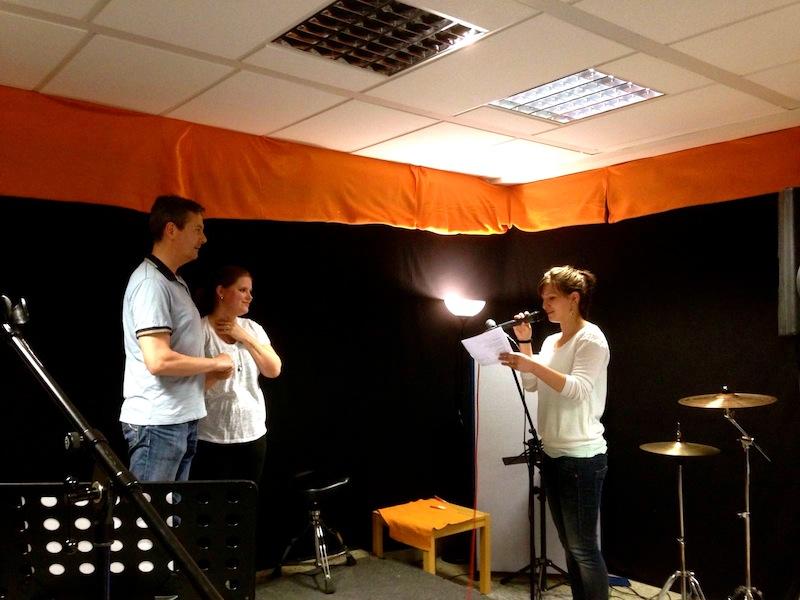 Celina verzaubert Matthias und Janina