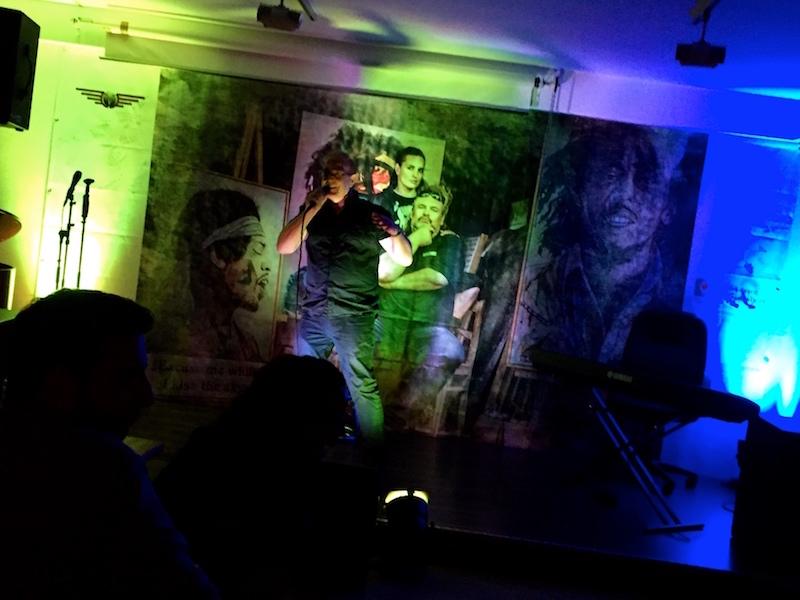 Open Stage: Dieter mit Sway