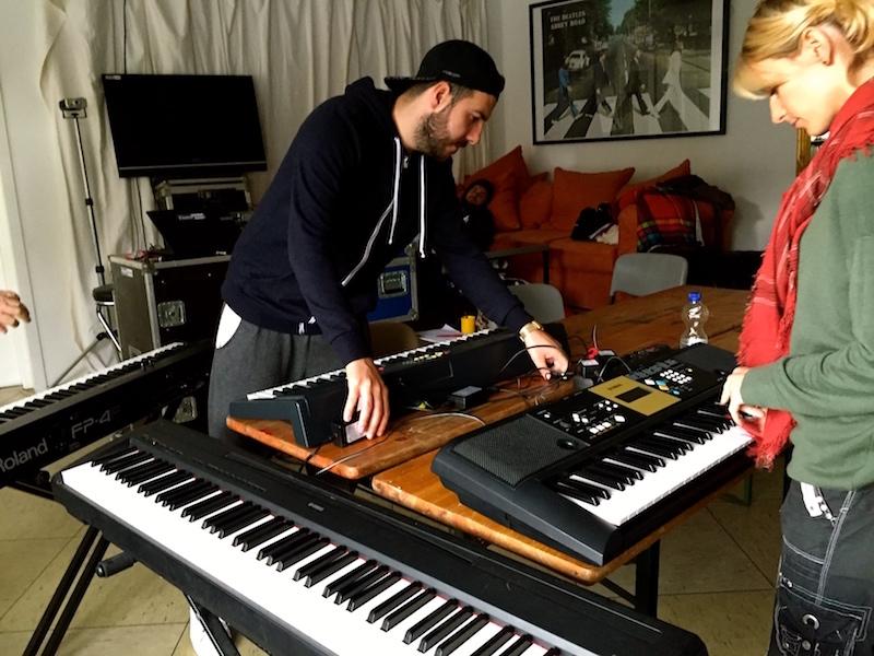 Keyboards aufbauen