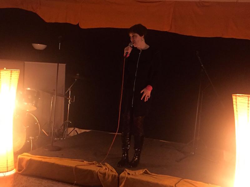 Anne-Kathrin von der letzten Sängerausbildung