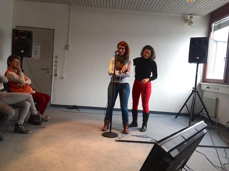 Finetuning: Maren und Sandra