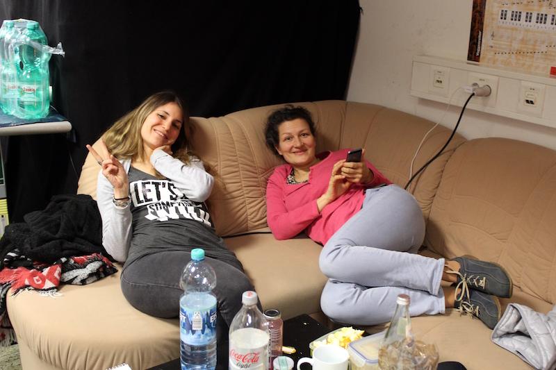 Chrissie und Sandra