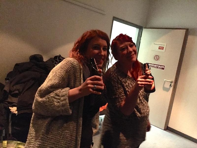 Einhörner: Maren und Steffi