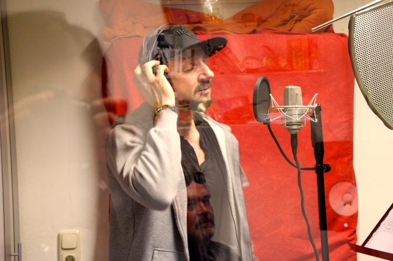 Ausbildung zum Vocalcoach: Studioarbeit Chahid