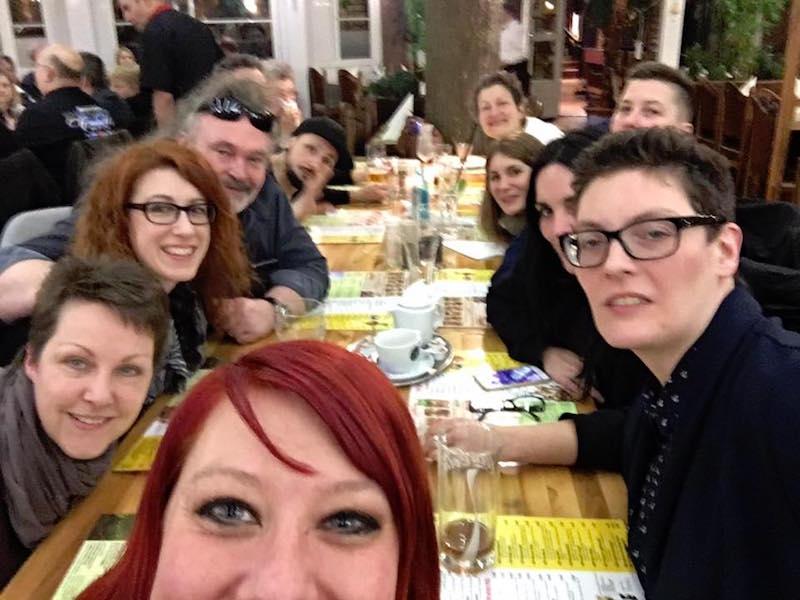 Gesangsausbildung POWERVOICE: Selfie muss sein