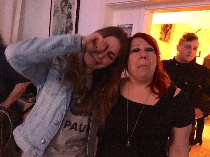 Gesangsausbildung POWERVOICE: Chrissie und ich