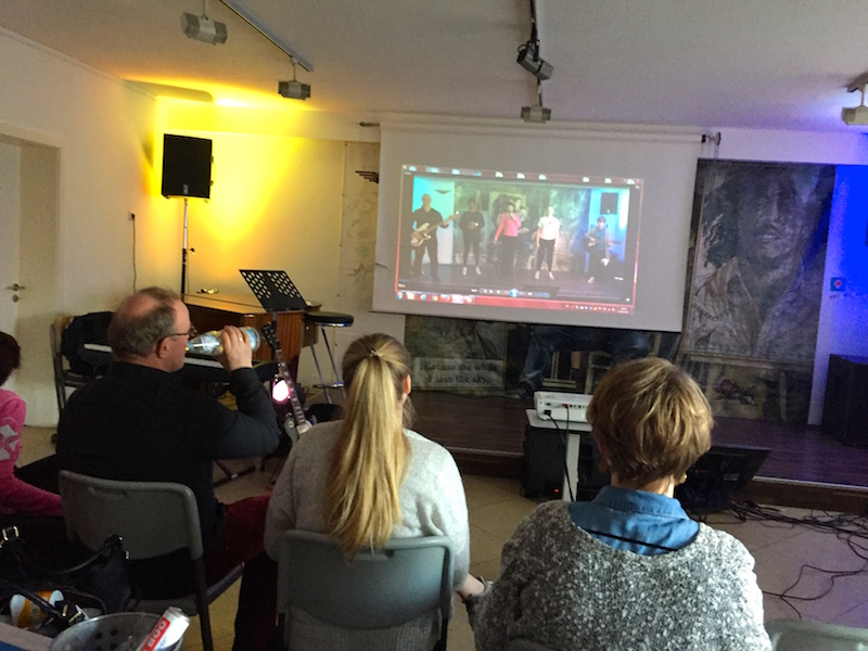 Gesangsausbildung POWERVOICE: Videoanalyse