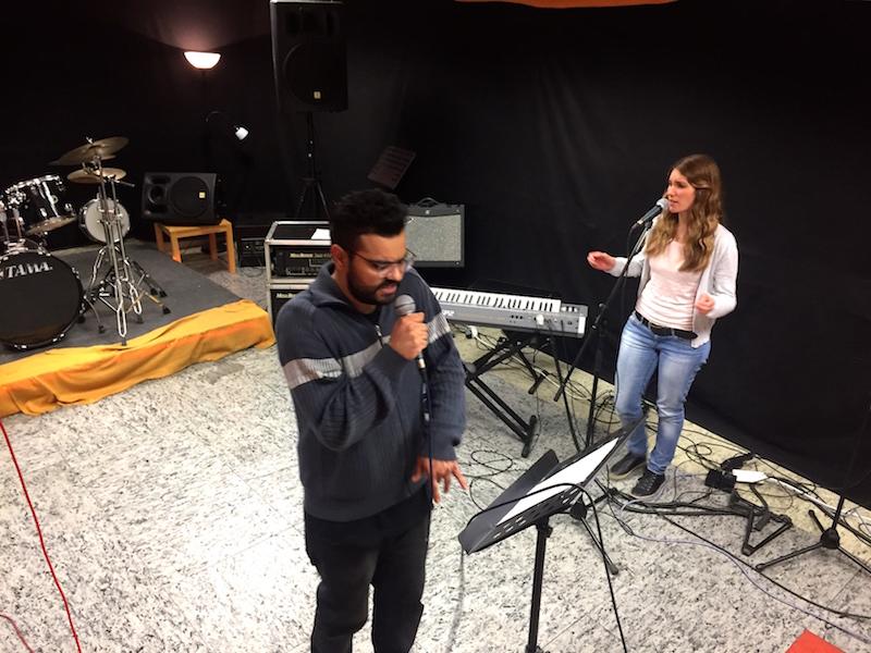 Abschlusswoche - Ausbildung zum Vocalcoach April 2017