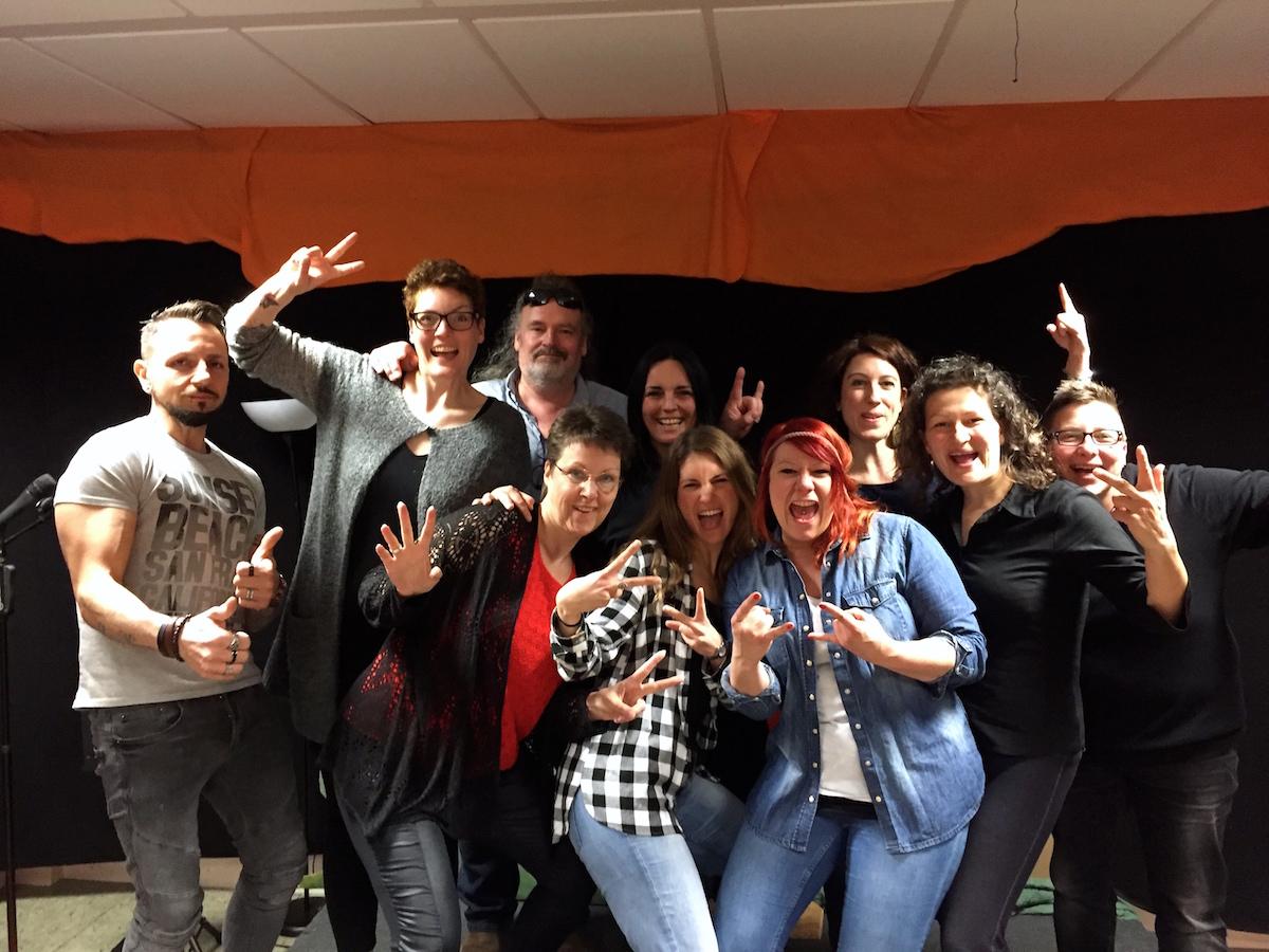 Ausbildung zum Vocalcoach – 6. und letzter Teil unserer Ausbildungsklasse – April 2017