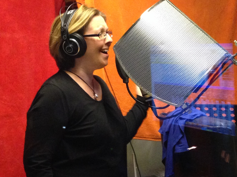 Moderne Studioarbeit: Gesangsaufnahmen