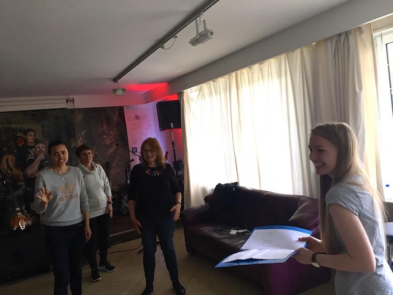 POWERVOICE Gesangsausbildung Mai 2017