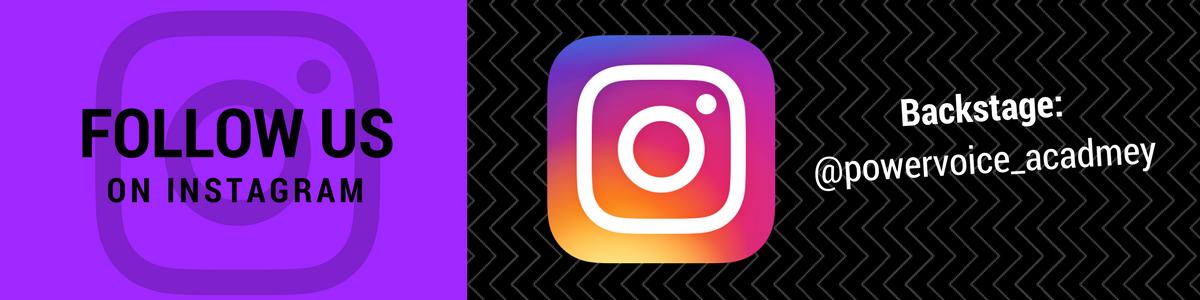 Folge POWERVOICE auf Instagram