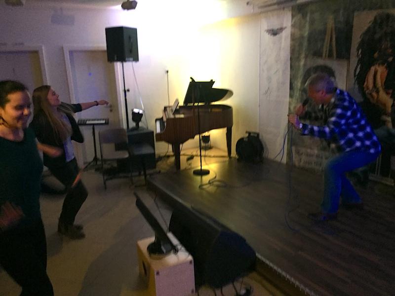 Gesangsausbildung: Jens rockt die Bühne