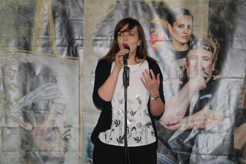 Ausbildung zum Vocalcoach: Lydia berührt mit ihrer Ballade.