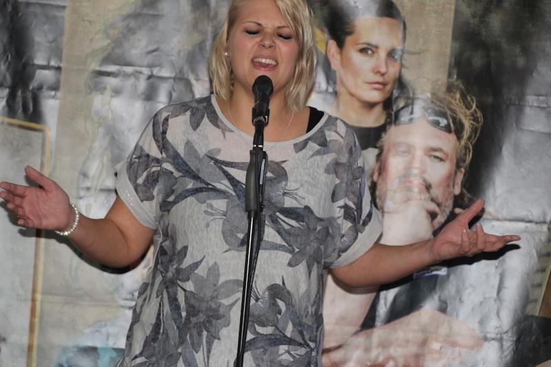 Ausbildung zum Vocalcoach: Caro in ihrem Element.