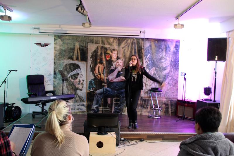 Sängerausbildung November 2017: Songvorstellung: Sarah