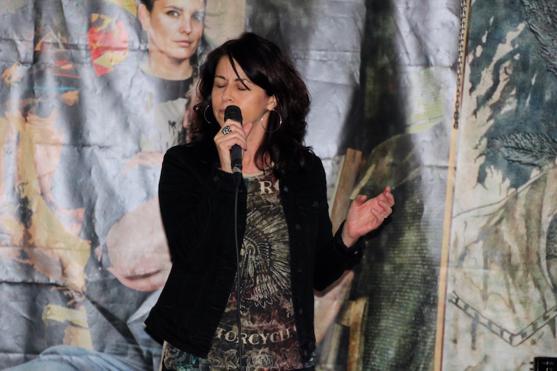 Sängerausbildung November 2017: Open Stage - Andrea
