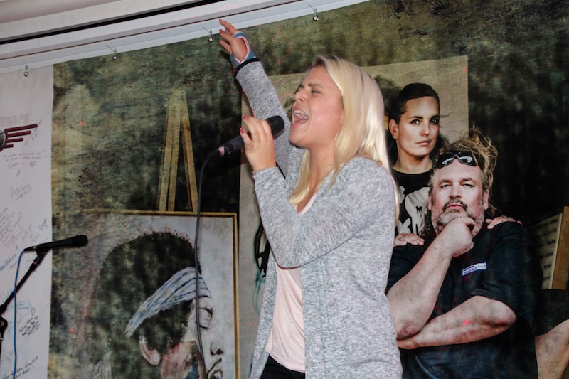 Sängerausbildung November 2017: Open Stage - Mickela